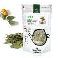 Medicinal Korean Herb, Persimmon Leaves Tea 감잎차 Dried Loose Leaves Tea 3oz / 86g