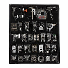 32pcs Machine à Coudre Sewing Foot Feet Presser for Brother Janome Yokoyama JUKI