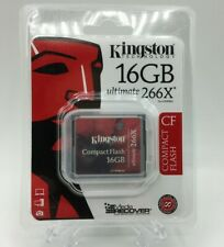 Kingston Ultimate 16 GB 266x CompactFlash Memory Card (CF/16GB-U2)