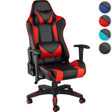 Chaise de bureau fauteuil gamer ergonomique confort design + coussins amovibles