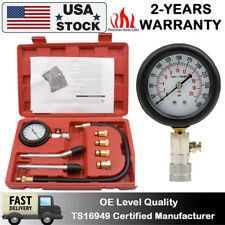 Car Diesel Engine  Petrol Gas Cylinder Compression Pressure Tester Gauge Test