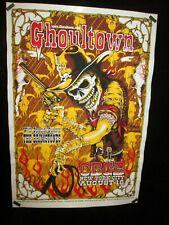 Rare Vintage Ghoultown Poster