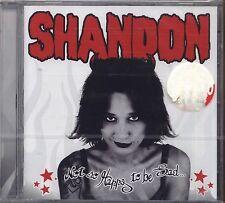 SHANDON - Not so happy to be sad... -  CD 2001 SIGILLATO SEALED