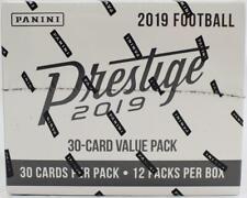 2019 Panini Prestige Football 12ct Jumbo Fat Pack Box