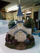 Thomas Kinkade Hawthorne Village Hometown Chapel