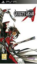 Guilty Gear XX Accent Core Plus PSP UMD Playstation video spiel UK Release