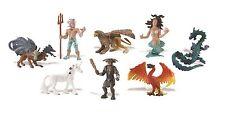 Safari Ltd toys - MYTHICAL REALMS  set of 8 figurines play / cake decorations