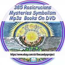 Rosicrucian Mystery Symbolism Mysteries Symbols Rose Cross 385 Books Mp3s 2 Dvds