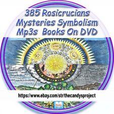 Rosicrucian Mystery Symbolism Mysteries Symbols Rose Cross 385 Books Mp3s 2 DVDs