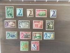 Fiji 1954 sg.280-95 set of 15 MH