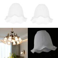 2 pezzi di ricambio per lampada da soffitto con lampadario a parete in vetro