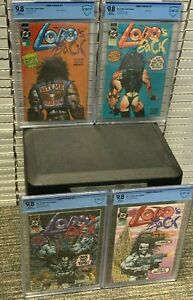 LOBO's BACK #1 2 3 4 x 9.8 HIGHEST Graded COMPLETE Run Set DC Comics CGC<CBCS!