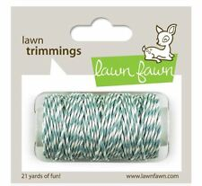 Lawn Fawn Lawn Trimmings ~ Hemp Cord ~ SKY Blueish Grey  - 21yards ~LF595
