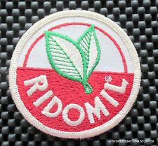 RIDOMIL FARM FUNGICIDE EMBROIDERED SEW ON PATCH ADVERTISING  3""