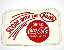 COCA COLA COKE VINTAGE USA STAFFA rappezzi RICAMATE PATCH AMERICAN FOOTBALL