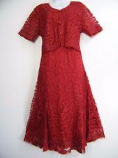 Tailleur e abiti sartoriali da donna rosso taglia XXL