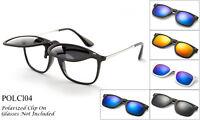 Polarized Driving Clip-on Flip-up Lens Sunglasses Glasses 100% UV Sports