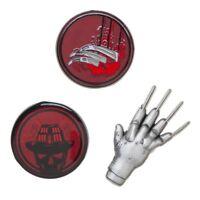 Freddy Krueger Nightmare On Elm Street Horror Movie Lapel 3 Pin Set