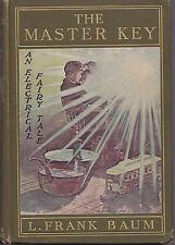 L Frank Baum - The Master Key - Bowen-Merrill 1901 - Scarce