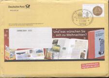 Echte ungeprüfte Briefmarken-Ganzsachen aus der BRD mit Bedarfsbrief
