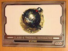 Star Wars 2012 Galactic Files 2 #636 Class-A Thermal Detonator Mint