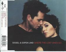 SISSEL & ESPEN LIND - Where the lost ones go CD MAXI 4TR NORWAY 2001 MEGA RARE!!