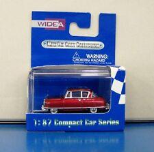 WIDEA 1/87 Compact Car Series Nash Rambler Drak Red