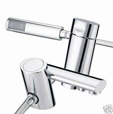 Bristan John Sydney Aqueous 2 Tap Hole Single Lever Bath Shower Mixer Chrome