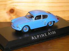RENAULT ALPINE A106 1/43 NOREV
