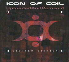 ICON OF COIL - Uploaded And Remixed - ltd. 2CD in digipak - 2004 - very good+ !!