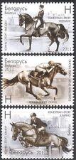 Belarus 2011 Horses/Sports/Dressage/Jumping/Animals/Nature 3v set (n33093)