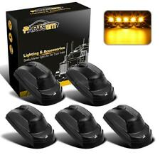 5x Smoke/Amber Cab Roof Running Top Light for Ford F250 F350 17-19 super duty