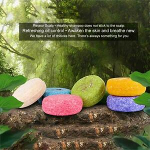 16 Scents Shampoo Bar Soap Natural Handmade Hair Cleaning Nourishing Herbal Soap