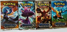 BRAND NEW 4 PACKS OF REPLICA POKEMON TRADING CARDS BREAKPOINT TRADING CARDS.