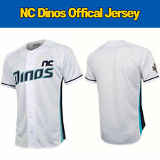 NC Dinos Jersey White Mint 2020 Official Replica Team Shirts KBO FEDEX