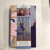 Disney Frozen II Shower Curtain Believe In The Journey Polyester 72 x 72 in. New