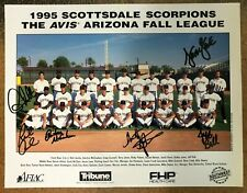 1995 Scottsdale Scorpions Signed Photo 5x - AZFL Minor League Auto