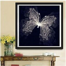 DIY Butterfly 5D Diamond Embroidery Painting Cross Stitch Art Craft Decor Gift