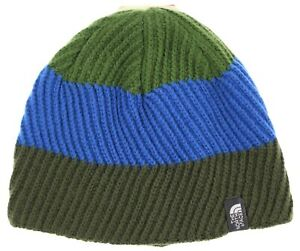 The North Face Youth Unisex Gone Wild Scallion Green Beanie Size Small