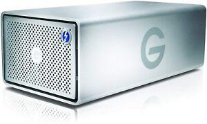 G-Technology G-RAID Removable Thunderbolt 3 8000GB Silver NA (0g05748)