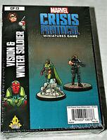 Marvel Comics Crisis Protocol Miniatures Game Vision Winter CP13 Sealed 2019 MIB