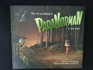 THE ART OF PARANORMAN HARDCOVER ART BOOK JED ALGER
