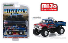 Greenlight MiJo Exclusive Ford F250 Bigfoot Monster Truck with Flames
