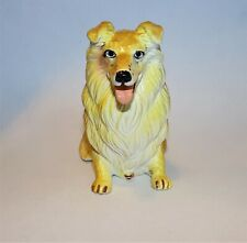 New-Ray Vintage Rubber Dog Figure Rough Collie