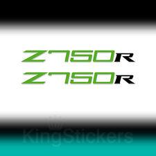 2 ADESIVI Kawasaki Z750R sticker decal Z750 R moto stickers