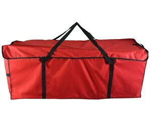 ANSIO Christmas Tree Storage Bag Fits Up to 7ft Tall - (130cm*40cm*50cm) Red