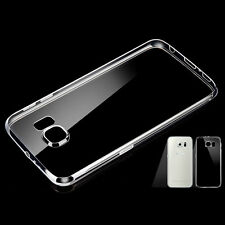 1 Pcs For Samsung S7 Case Slim Crystal Clear TPU Silicone Protective Sleeve ab