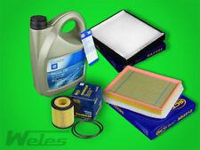 Paquete De Servicio Filtro + ORIGINAL GM ACEITE MOTOR 5w30 dexios2 OPEL ZAFIRA B