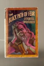 D787 Path Of Fear Cornell Woolrich ( William Irish ) Mystery Paperback Book