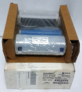 "Brady 76774 GlobalMark Ribbon Cartridge 4.11"" x 200' Color: Black / Blue"